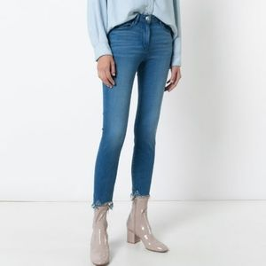 3X1 NYC Mid Rise Skinny Crop Jeans